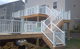 Custom Built Deck in Minnetonka