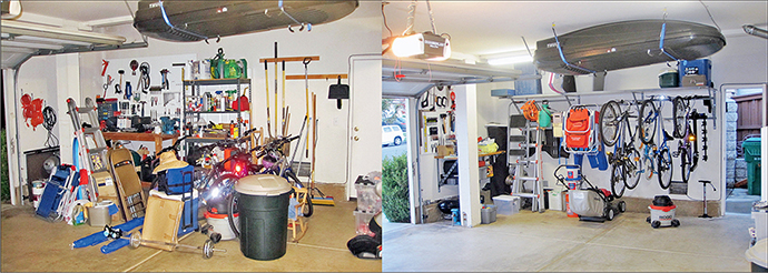 organisation garage pin organisations projects renovation and makeover
